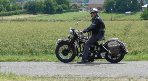 Vespa Oldtimerrondrit 2011 33