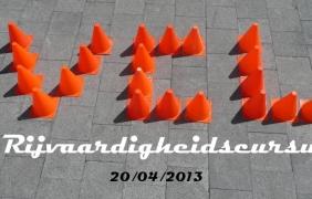 Rijvaardigheidscursus 2013