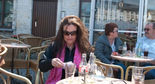 Vespa Oldtimerrondrit 2011 03