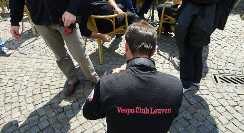 Vespa Oldtimerrondrit 2011 19