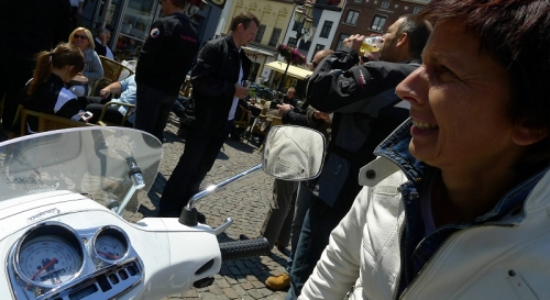 Vespa Oldtimerrondrit 2011 21