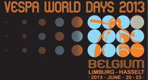 Vespa world days Hasselt 2013 01